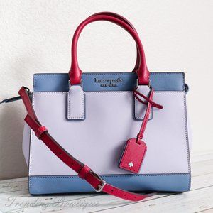 NWT Kate Spade Cameron Medium Satchel in Lilac